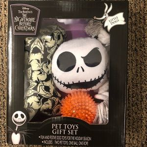 Nightmare Before Christmas Pet Toy Set